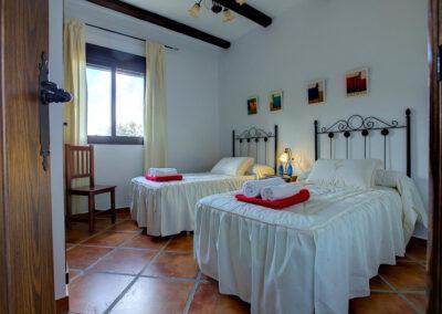 Bedroom #3 at La Olgava, El Jaral