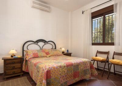 Bedroom #1 at La Zarza, El Gastor