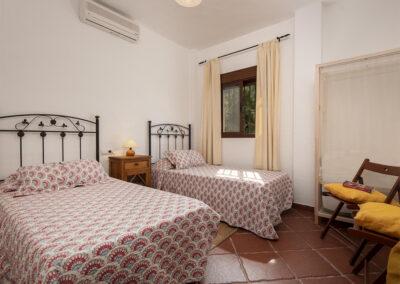 Bedroom #2 at La Zarza, El Gastor