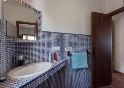 The bathroom at La Zarza, El Gastor