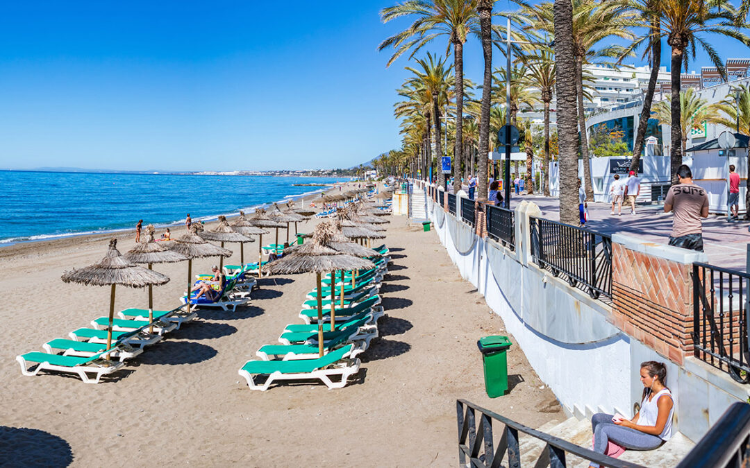 Dotted with palm trees and flowers, bordered by gorgeous beaches and flanked by the Sierra Blanca mountains, Marbella's seafront promenade is one of the most attractive boardwalks on the Costa del Sol. Enjoy stellar views as you wander its almost 12-kilometre length.