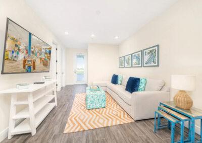 The loft living area at Margaritaville 121, Kissimmee