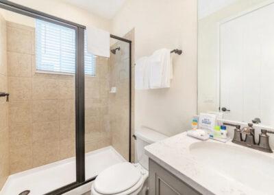 Bedroom #3 adjacent bathroom at Margaritaville 121, Kissimmee