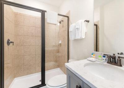 Bedroom #5 adjacent bathroom at Margaritaville 121, Kissimmee