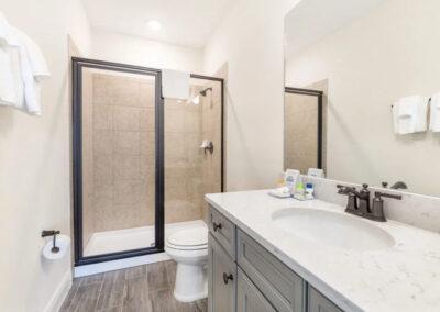 Bedroom #7 adjacent bathroom at Margaritaville 121, Kissimmee
