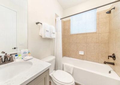 Bedroom #8 adjacent bathroom at Margaritaville 121, Kissimmee
