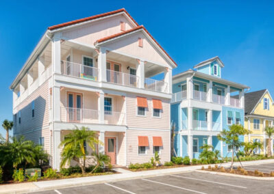 Margaritaville 121, Kissimmee is a gorgeous eight bedroom, eight bathroom villa with pool just five miles from Disney. Open-plan living, modern kitchen and two TV / sitting areas. Full range of bars, dining & onsite entertainment including water park & Disney shuttle.