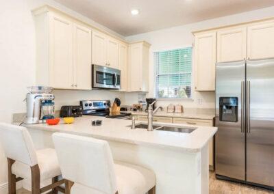 The kitchen at Margaritaville 3, Kissimmee, Orlando