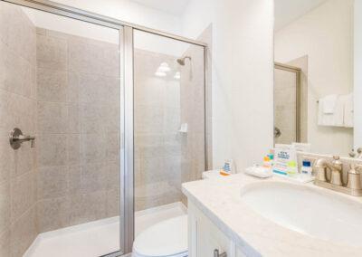 Bedroom #2 adjacent bathroom at Margaritaville 3, Kissimmee, Orlando