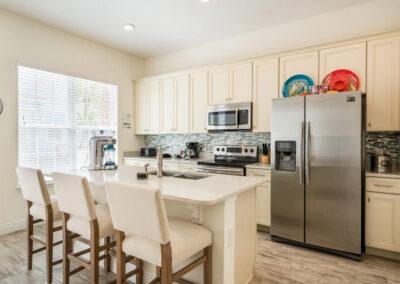 The kitchen at Margaritaville 49, Kissimmee, Orlando