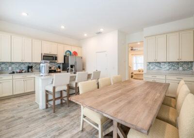 The kitchen & dining area at Margaritaville 49, Kissimmee, Orlando