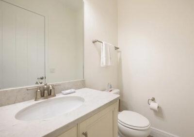 The bathroom adjacent to bedroom #2 at Margaritaville 49, Kissimmee, Orlando