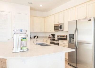 The kitchen at Margaritaville 99, Kissimmee, Florida