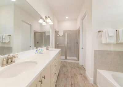 Bedroom #1 en-suite at Margaritaville 99, Kissimmee, Florida