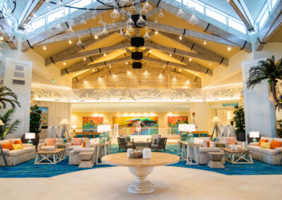There's an excellent array of on-site luxury dining options at Margaritaville, Kissimmee, Orlando