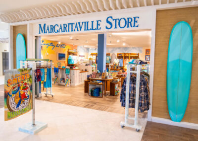 There's an excellent array of on-site shopping facilities at Margaritaville, Kissimmee, Orlando