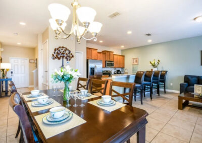 The dining area at Paradise Palms Resort 10, Kissimmee