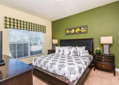 Bedroom #1 at Paradise Palms Resort 10, Kissimmee