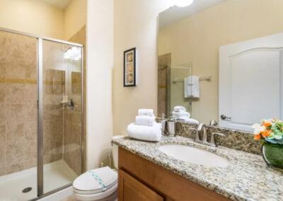 Bedroom #1 en-suite at Paradise Palms Resort 10, Kissimmee
