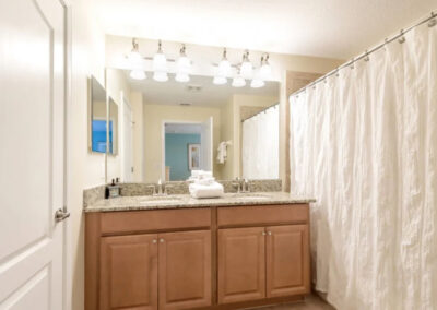 Bedroom #2 en-suite at Paradise Palms Resort 10, Kissimmee