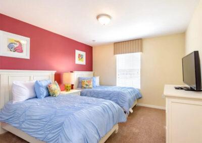 Bedroom #3 at Paradise Palms Resort 10, Kissimmee