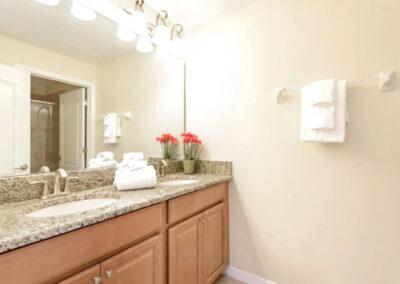 The bathroom at Paradise Palms Resort 10, Kissimmee