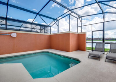 The swimming pool at Paradise Palms Resort 10, Kissimmee