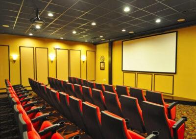 The 50 seat cinema at Paradise Palms Resort, Kissimmee