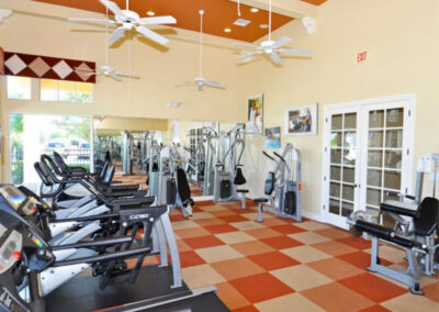 The fitness centre at Providence Resort, Davenport