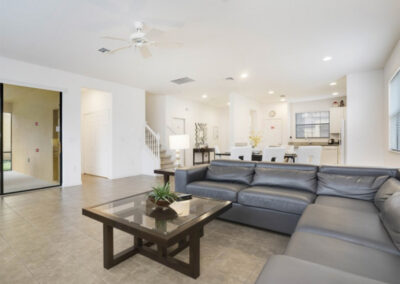 The living area at Providence Resort 61, Davenport, Orlando