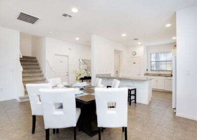 The dining area at Providence Resort 61, Davenport, Orlando