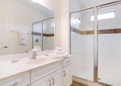 Bedroom #3 en-suite at Providence Resort 61, Davenport, Orlando