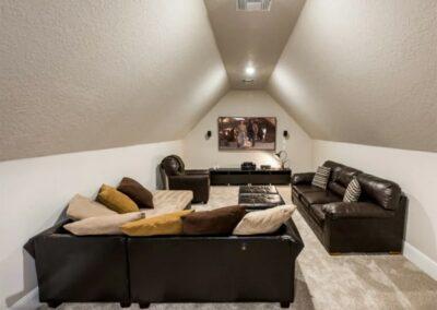 The loft lounge area at Reunion Resort 140, Reunion, Orlando, Florida