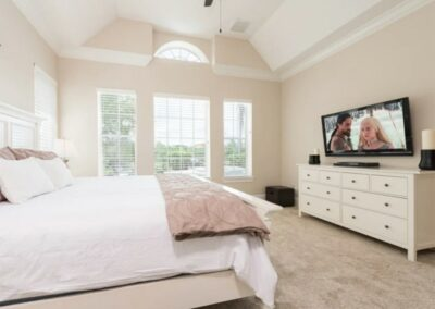 Bedroom #1 at Reunion Resort 140, Reunion, Orlando, Florida