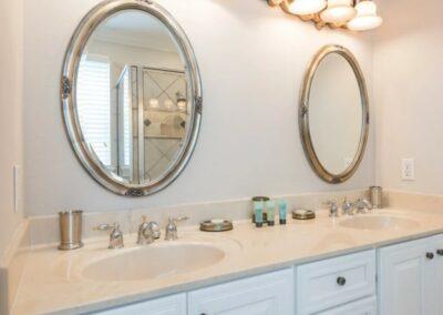 Bedroom #1 en-suite at Reunion Resort 140, Reunion, Orlando, Florida
