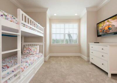 Bedroom #3 at Reunion Resort 140, Reunion, Orlando, Florida