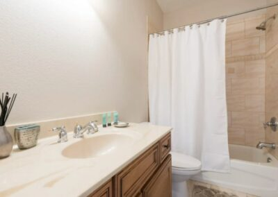 The bathroom at Reunion Resort 140, Reunion, Orlando, Florida