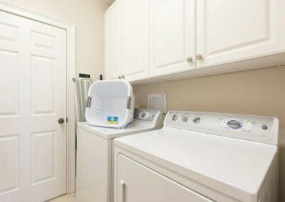 The utility room at Reunion Resort 140, Reunion, Orlando, Florida