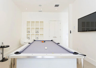 The games room at Reunion Resort 95, Reunion