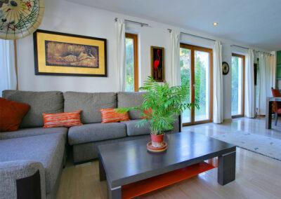 The living area at San Nicasio, Ronda