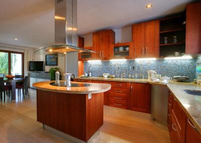 The kitchen at San Nicasio, Ronda