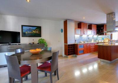 The dining area at San Nicasio, Ronda