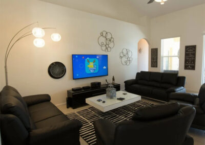 The second living area at Solterra Resort 131, Davenport