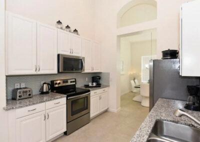 The kitchen at Solterra Resort 131, Davenport