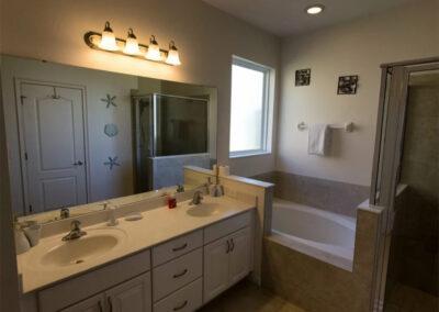 Bedroom #1 en-suite at Solterra Resort 131, Davenport