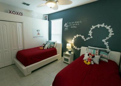 Bedroom #2 at Solterra Resort 131, Davenport