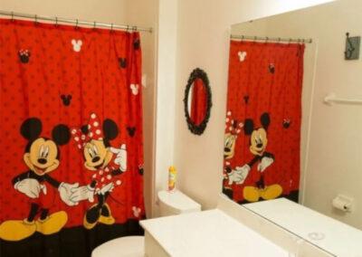 Bedroom #2 & #3 Jack 'n Jill bathroom at Solterra Resort 131, Davenport