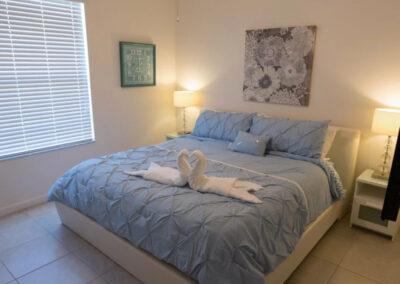Bedroom #4 at Solterra Resort 131, Davenport