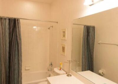 Bedroom #4 en-suite at Solterra Resort 131, Davenport