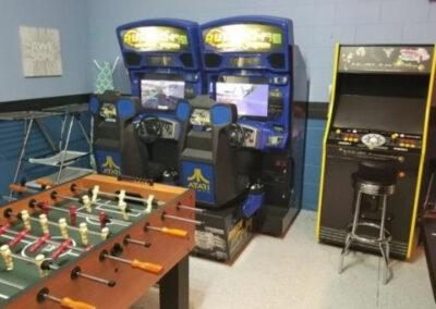The games room at Solterra Resort 131, Davenport